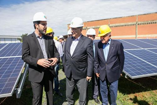 Uberlândia ganha primeira usina que armazena energia solar do Brasil